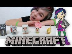 Minecraft Core Animal 6 Pack - Chicken, Ocelot, Wolf and More!