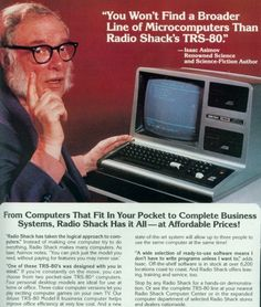 Radio Shack TRS-80 - from the May 1982 issue of Playboy