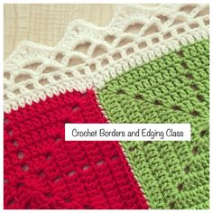 CROCHET BORDERS AND EDGING CLASSIn this full day class you will learn several different ways of edging or putting borders on your crochet work. Fantastic for finishing off those winter blankets you've been making.YOU WILL LEARN:- Crab stitch edging- Crochet pom pom edging- Sunny border, thanks to Dada's Place free pattern- Twin Peaks borderMATERIALS TO BRING:- 4mm crochet hook- 8ply yarn - 15cm or 20cm crochet squares you've already made and/or se...