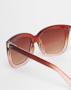 Warehouse | Warehouse Ombre D Frame Sunglasses at ASOS