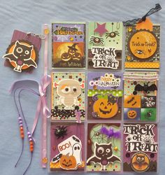 FAZENDO ARTE by Daniela Lopes: Pocket Letter - Halloween: Desafios de Scrapbook - PL
