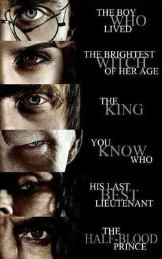 Harry Potter - Hermione Granger - Ron Weasley - Lord Voldemort - Bellatrix Lestrange - Severus Snape >> Okay I had nearly forgotten about Weasley is our King and I died laughing for a minute Harry Potter Tumblr, Harry Potter Hermione, Harry Potter World, Harry Potter Triste, Memes Do Harry Potter, Magie Harry Potter, Estilo Harry Potter, Mundo Harry Potter, Harry Potter Spells