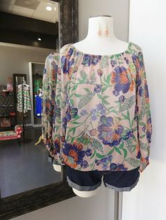 "**NEW** Krissy Floral"" Top"