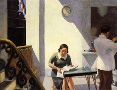 The Barber Shop, 1931, Edward Hopper