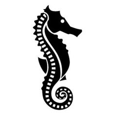 1489-silhouette-of-a-seahorse.jpg (626×626)