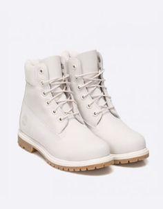 Bocanci dama albi piele de iarna Timberland Timberland Boots, Footwear, Lei, Clothes, Shoes, Fashion, Outfits, Moda, Clothing