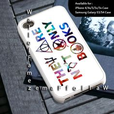 They Are Not Only Books Design for iPhone 4/4s, iPhone 5/5s/5c, Samsung Galaxy S3/S4 Case