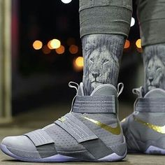 "new product 387fd 953aa Lebron James Shoes on Instagram  ""Lebron Soldier 10"""