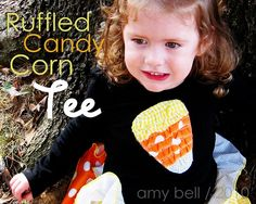 ruffled candy corn