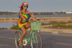 Ryding around Formentera