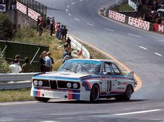 1973. Spa 24 Hours. BMW 3.0 CSL Driven by Toine Hezemans (NL) Dieter Quester (A). Winner!!