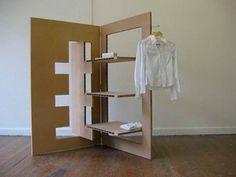 Gehry Cardboard Furniture wardrobe hangers