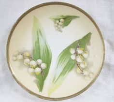 Lily of the Valley  HandPainted Austrian by VintagePottery
