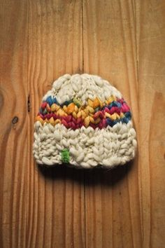 Gorro de lana / Snowflake - comprar online