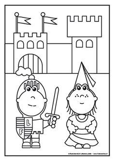 Kleurplaten Prinsessen En Ridders.362 Beste Afbeeldingen Van Ridders En Jonkvrouwen Castles Knight