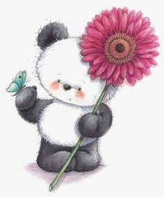 Panda Bear The post Panda Bear appeared first on Best Pins for Yours - Drawing Ideas Panda Love, Cute Panda, Cute Images, Cute Pictures, Image Panda, Cute Clipart, Tatty Teddy, Cute Bears, Cute Illustration