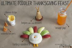 thanksgiving with a little one! fun food & fun activities