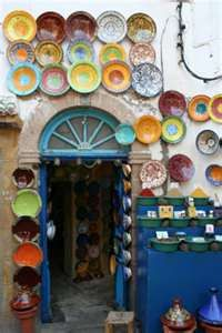 outside wall in morocco inspires cool ideas