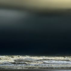 """Tumblr. venus12thhouse: (via 500px / Photo """"the darkness behind the waves"""" by piet flour)"""