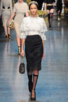 Dolce & Gabbana - Fall 2012 Ready-to-Wear - Look 48 of 74