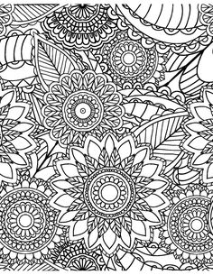 Calming Patterns for Adults Who Color - Live Your Life in Color Series – Coloring Book Zone