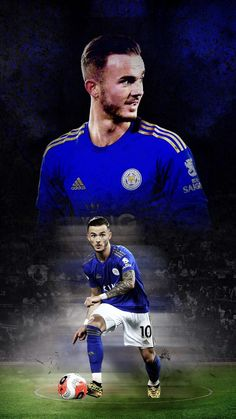 Leicester City Football, James Maddison, Manchester United Wallpaper, Soccer, The Unit, Baseball Cards, Sports, Movie Posters, Club