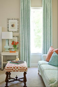Small Space, Living Room Colour Palette
