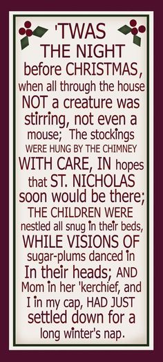 It's just a graphic of Monster Twas the Night Before Jesus Came Printable