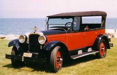 1925 Nash touring sedan...