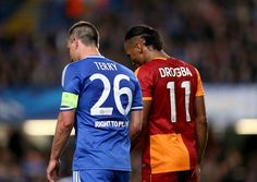 https://flic.kr/p/mc885W | Match 13/14 - Galatasaray (h) | Galatasaray's Didier Drogba (right) and Chelsea's John Terry