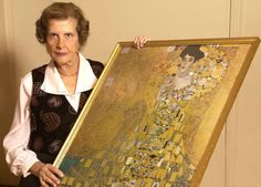 The Klimt painting, the Nazis and a Hollywood courtroom drama ... www.haaretz.com the real Maria Altmann and the famous painting involved in the court case