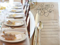 Thankful Placemats: http://www.stylemepretty.com/living/2014/11/18/the-best-thanksgiving-diys/