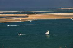 Campingplatz an der französischen Atlantikküste (Arcachon)