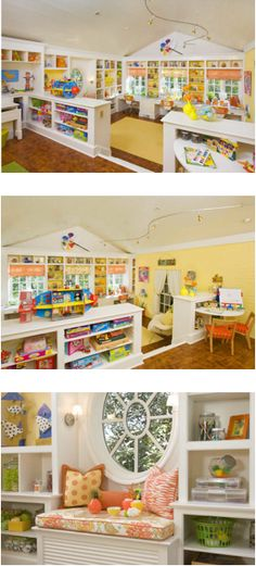 kids playroom-This would be so VERY VERY cool for our awkward upstairs room <3