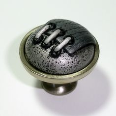 Soft Steampunk Antiqued Silver / Gray U0026 Black By Outrageous Knobs CCB340.  $18.00, Via