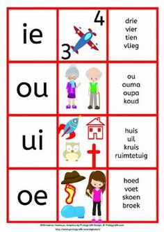 Alfabet en Klanke by My Afrikaanse Avontuur Preschool Learning Activities, Preschool Worksheets, Classroom Activities, Letter Activities, Classroom Posters, Teaching Reading, Teaching Kids, Kids Learning, Quotes Dream