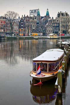 "View towards DJ Tiesto's ""Cineac"" club-restaurant Amsterdam"