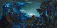 Nocturne III by Asger Jorn