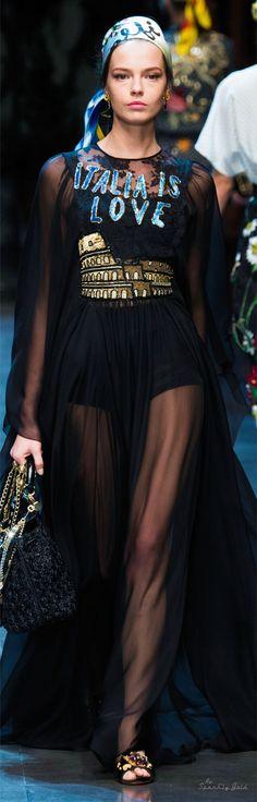 Dolce & Gabbana Spring 2016