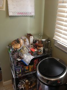 Before: Disgraceful pantry area #1 #kitchncure