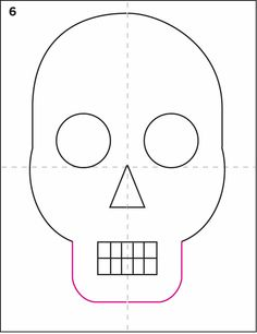 How to Draw a Skull | Art Projects for Kids