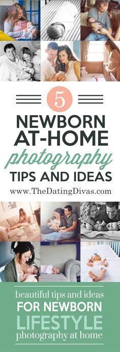 Newborn Lifestyle Photography Ideas