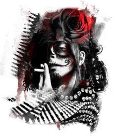 Trash Polka Art | Эскизы Тимура Лысенко