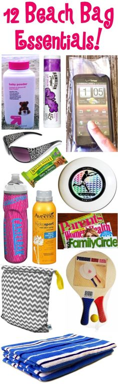 Beach Bag Essentials! ~ tips at TheFrugalGirls.com ~ Definite must-haves for packing your beach bag... for your next vacation or weekend trip to the beach!  I love #4 on this list!