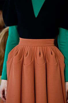 NYFW FALL 2013 - DELPOZO - pleats