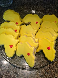 Sole Hope Shoe Cutting Party - Uganda, Africa Sugar Cookies