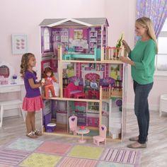 "KidKraft Elegant 18"" Doll Manor (fits American Girl or Our Generation dolls)"