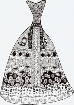 1000+ images about Zentangle fashion on Pinterest ...
