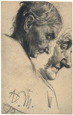 ADOLPH VON MENZEL (1815 Breslau – 1905 Berlin)