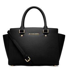 MICHAEL KORS SELMA MD TZ Satchel Black Schwarz 30S3GLMS2L: Amazon.de: Schuhe & Handtaschen Diese und weitere Taschen auf www.designertaschen-shops.de entdecken